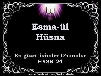 Allahın 99 ismi ilahisi