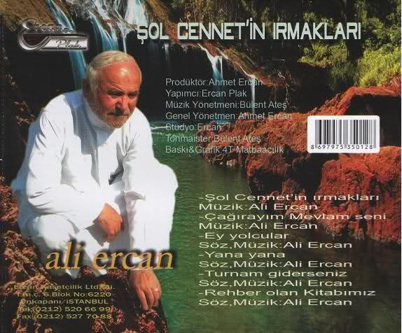 Şol Cennetin ırmakları Dinle ( Ali Ercan )