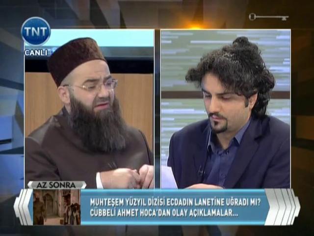 Cübbeli Ahmet Hoca TNT