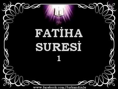 Fatiha Suresi (Kabe imamı Dinle)