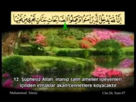 Muhammed Suresi Kabe İmamı